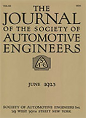Journal of the S.A.E. 1923-06-01