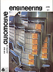The S.A.E. Journal of Automotive Engineering 1971-06-01