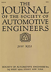 Journal of the S.A.E. 1921-07-01