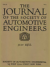 Journal of the S.A.E. 1922-07-01