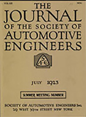 Journal of the S.A.E. 1923-07-01