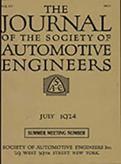 Journal of the S.A.E. 1924-07-01