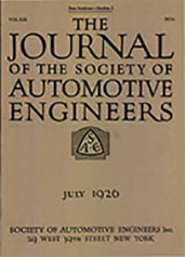 Journal of the S.A.E. 1926-07-01
