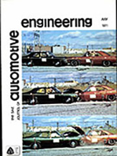 The S.A.E. Journal of Automotive Engineering 1971-07-01