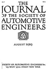 Journal of the S.A.E. 1919-08-01