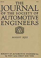 Journal of the S.A.E. 1921-08-01