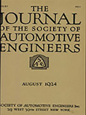 Journal of the S.A.E. 1924-08-01