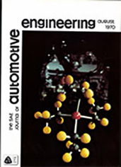 The S.A.E. Journal of Automotive Engineering 1970-08-01