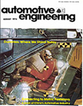 Automotive Engineering 1974-08-01