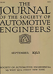 Journal of the S.A.E. 1923-09-01