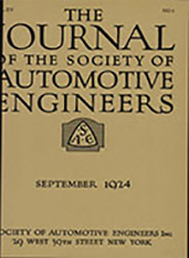 Journal of the S.A.E. 1924-09-01