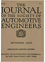 Journal of the S.A.E. 1926-09-01