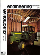 The S.A.E. Journal of Automotive Engineering 1970-09-01