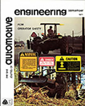 The S.A.E. Journal of Automotive Engineering 1971-09-01