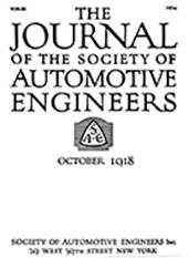 Journal of the S.A.E. 1918-10-01