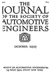 Journal of the S.A.E 1919-10-01