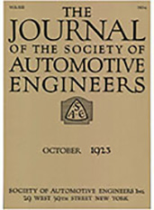 Journal of the S.A.E. 1923-10-01