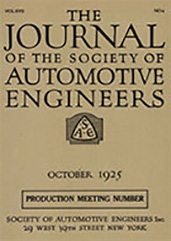 Journal of the S.A.E. 1925-10-01