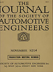 Journal of the S.A.E. 1924-11-01