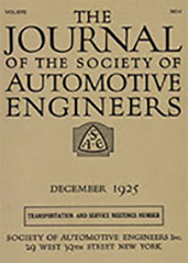 Journal of the S.A.E. 1925-12-01