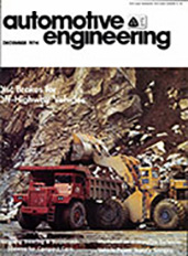 Automotive Engineering 1974-12-01
