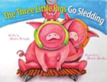 The Three Little Pigs' Sledding Adventure