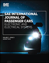 Sae International Journal Of Passenger Cars Electronic And Electrical Systems