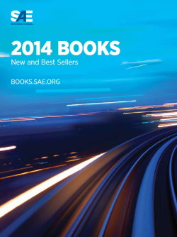 New and Best Sellers Catalog 2014
