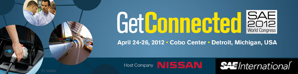 SAE 2012 World Congress April 24-26, 2012 Cobo Center Detroit, Michigan, USA