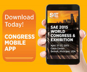 SAE 2015 World Congress & Exhibition Mobile App