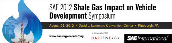 SAE 2012 Shale Gas Impact on Vehicle Development Symposium August 28, 2012 David L. Lawrence Convention Center, Pittsburgh, USA
