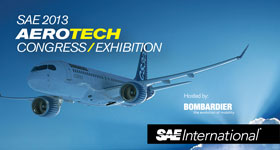 SAE 2013 AeroTech Congress & Exhibition