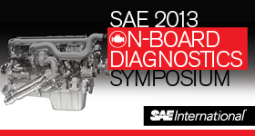 SAE 2013 On-Board Diagnostics Symposium