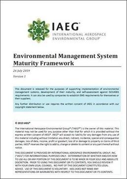 Environmental Management System Maturity Framework