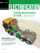 SAE Vehicle Electrification 2012-04-18 - April 18, 2012