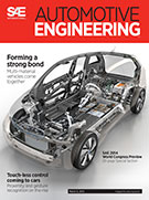 Automotive Engineering:  March 4, 2014 - March 04, 2014
