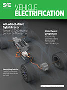 SAE Vehicle Electrification:  May 13, 2014 - May 13, 2014