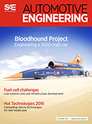 Automotive Engineering:  December 1, 2015 - December 01, 2015