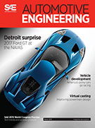 Automotive Engineering:  March 3, 2015 - March 03, 2015