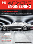 Automotive Engineering:  November 3, 2015 - November 03, 2015