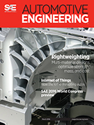 Automotive Engineering:  March 3, 2016 - March 03, 2016