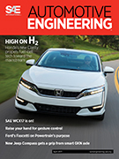 Automotive Engineering:  April 2017 - March 30, 2017