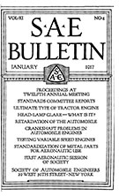 SAE Bulletin 1917-01-01 - January 01, 1917
