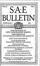 SAE Bulletin 1917-02-01 - February 01, 1917