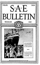 SAE Bulletin 1916-03-01 - March 01, 1916