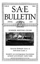 SAE Bulletin 1916-04-01 - April 01, 1916