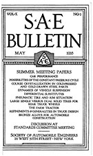 SAE Bulletin 1916-05-01 - May 01, 1916