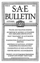SAE Bulletin 1916-10-01 - October 01, 1916