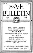 SAE Bulletin 1915-11-01 - November 01, 1915