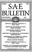 SAE Bulletin 1916-11-01 - November 01, 1916